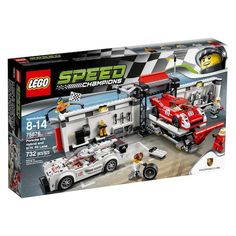 LEGO Speed Champions Porsche 919 Hybrid and 917K Pit Lane (75876)