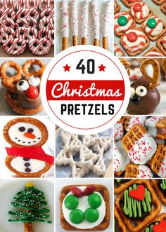 40 Pretzel Christmas Treats