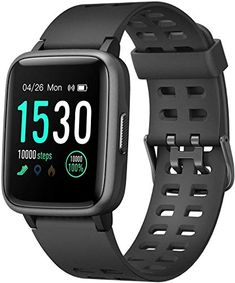 LETSCOM Smart Watch Fitness Tracker with Heart Rate Monitor, Waterproof Activity Tracker Compatible with Android and iOS Phone, Step Counter Sleep Monitor, Pedometer Smartwatch for Women Men kids Tracker Fitness, Waterproof Fitness Tracker, Ios Apple, Apple Art, Best Kids Watches, Cool Watches, Sport Watches, Casual Watches, Fitness Watches For Men
