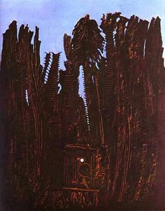 Forest and Dove, 1927 - by Max Ernst