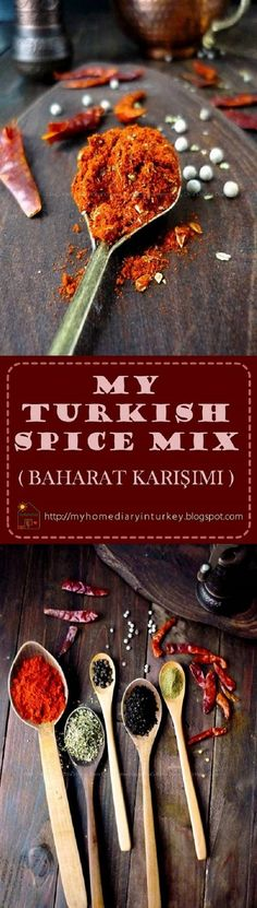 MY TURKİSH SPİCE MİX ( BAHARAT KARIŞIMI ). this baharat mix is my copycat spice mix that mostly local restaurant (lokanta) here to use for rubbing their barbecue (kebab) start from chicken (Tavuk Kebabı), lamb, beef until liver (Çiğer Kebabı). Sometime İ even use this spice mix for grilled fish or prawn, my family love it. #spicemix #turkishspicemix #baharat #bumbukhasturki #spice #turkish #homemade