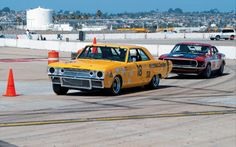 Vintage Trans Am Racing 1969 Dodge Dart