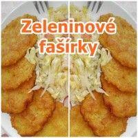 zeleninove-fasirky-recept Good Food, Yummy Food, Meatball Recipes, Menu, Chicken, Fruit, Vegetables, Menu Board Design, Delicious Food