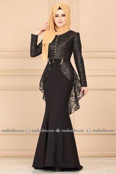 Modest Fashion Hijab, Abaya Fashion, Muslim Fashion, Fashion Dresses, Hijab Evening Dress, Hijab Dress Party, Evening Dresses, Pakistani Dress Design, The Dress