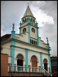 Iglesia San José de Bolívar, ubicada en el Municipio Francisco de Miranda, Estado Táchira, Venezuela