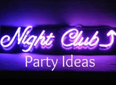 Nightclub Themed Party--good ideas. bouncer and red carpet. grafitti wall