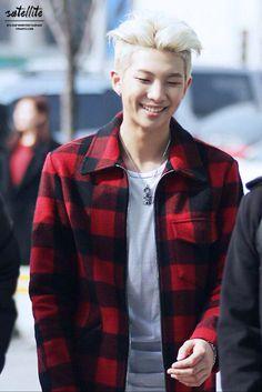 I love his happy smile