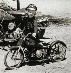 Indian Motorcycle Women Riding Bikes Ideas For 2019 Vintage Indian Motorcycles, Vintage Bikes, Vintage Motorcycles, Vintage Cars, Vintage Stuff, Vintage Ladies, Biker Chick, Biker Girl, Motorcycle Women