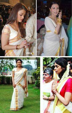 Kerala sarees. Wedding saree idea