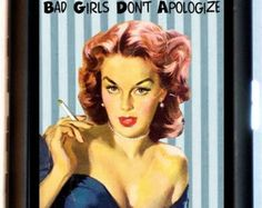 Kinky Pin-up Cigarette Case Pinup Girl It's by sweetheartsinner