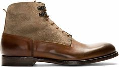 New Handmade Chukka Latest Style Suede and Calf Leather Boots, Men Brown boots Rugged Style, Suede Boots, Leather Boots, Calf Leather, Black Leather, Mens Brown Boots, Men's Shoes, Dress Shoes, Cowboy Shoes