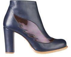 Minna Parikka. Leather upper Leather lining Leather sole Heel height 9 cm, hidden platform 1,5 cm