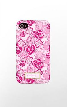 one of the cases i would like (maybe) for my iphone in October $28 Lilly Pulitzer - Phi Mu