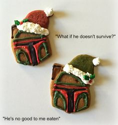 Sugar Swings! Serve Some: Star Wars Gingerbread Christmas Cookies