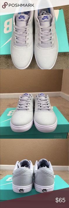 low priced 03ddd cdfb0 Nike Sb check solar sneakers canvas stake men shoe Size 10 brand new with  box Nike