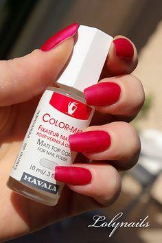 Mavala Color-Matt, a must-have!