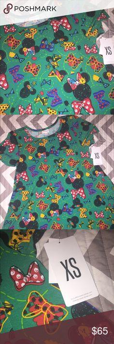 NWT LuLaRoe Disney Carly High Low Dress Minnie XS New with tags - LuLaRoe Disney Carly - Sz XS LuLaRoe Dresses High Low