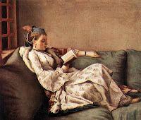 Adelaid de France, daughter of Louis XV.  Painted by Swiss artist Jean-Etienne Liotard.
