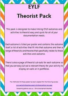 EYLF Theorist Pack