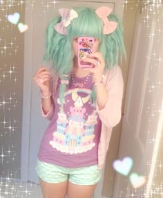 Styling this wig is sooo much fun oh my gosh fluffy pigtails are the BEST ( ̄▽ ̄)