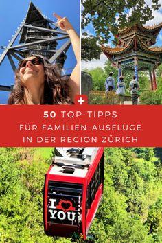 In der Region Zürich gibt es viele schöne Ausflugsziele für Familien. Fünfzig davon sind in der tollen ZVV-Freizeit-App zusammen gefasst. Das Beste dabei: Wer auf den Erkundungstouren die Freizeit-App nutzt, kann Punkte sammeln und sie gegen tolle Preise einlösen. #Ausflüge #Familie #DieAngelones Hotels, S Bahn, Fair Grounds, Travel, New Adventures, Family Getaways, Road Trip Destinations, Viajes, Trips