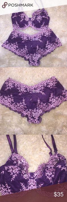 Selling this NWOT Wacoal lace bra and panty set 36dd on Poshmark! My username is: katspick. #shopmycloset #poshmark #fashion #shopping #style #forsale #Wacoal #Other