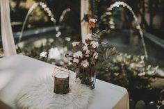 Detalle de decoración La Buganvilla en Sevilla en hacienda Villa Luisa. Wedding Planner Que se besen. Foto Ernesto Villalba