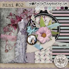 March Mixology Challenge PB Lilacs & Lace # Mini02