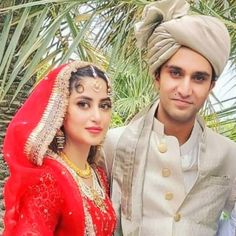 Pakistani Models, Pakistani Actress, Wedding Dresses For Girls, Girls Dresses, Sajal Ali Wedding, Mahira Khan Dresses, Sajjal Ali, Mehndi Dress, Hijab Fashionista