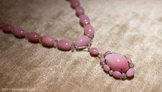 Boghossian conch pearl and diamond necklace