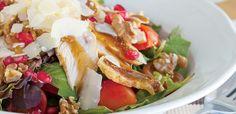 Το πετυχημένο περιοδικό μαγειρικής στον υπολογιστή, tablet ή κινητό σου! Αγαπημένες συνταγές από επώνυμους σεφ μαζί με τιπς και συμβουλές για την κουζίνα! Caprese Salad, Chicken, Meat, Food, Essen, Yemek, Insalata Caprese, Buffalo Chicken, Cubs