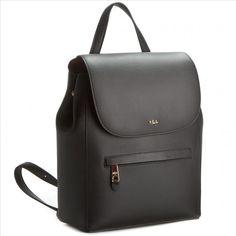 42fba71aed24ff Plecak LAUREN RALPH LAUREN - Ellen Backpack N91 XZ0BI XY0BI XW0DF  Black/Crimson