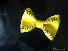 Wholesale cheap bows online, hair jewelry type - Find best 2017softballsunny yellow softball baseball basketball flowers bows hair at discount prices from Chinese pony tails holder supplier - lxg1314 on DHgate.com.
