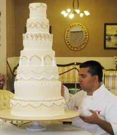 This will be my wedding cake! From Carlos bakery