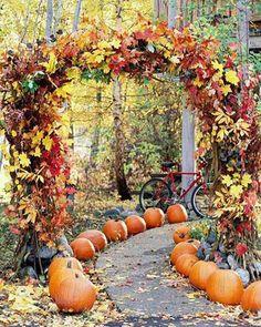 Fall Leaves Yard Decorations