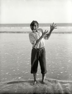 "Haka: Traditional ancestral war cry, dance or challenge from the Māori people of New Zealand. New Zealand, 1913. ""Maori boy performing a hak..."