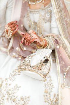 Asian Bridal Dresses, Asian Wedding Dress, Pakistani Wedding Outfits, Pakistani Bridal Dresses, Bridal Outfits, Black White Wedding Dress, White Dress, Pakistan Wedding, Nikkah Dress