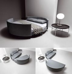 Most awesome hide-a-bed  I've ever seen =)