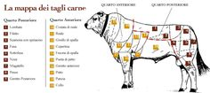 Over a Tuscan Stove: Big White Cows- Nose to Tail