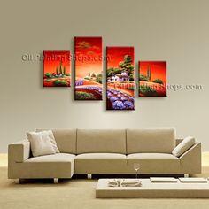 landscape canvas art