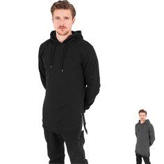 Urban Classics Long Side Zipped Hoody / in schwarz oder charcoal #fashion #hoody #hoodie #urban #urbanfashion #urbanclassics http://rudestylz.de/long-side-hoody.htm