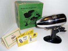 Vintage Oster Airjet Electric Hair Dryer Model 202 1950's, Vintage Hair Dryer, Vintage Chrome Electronics