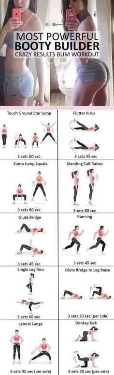 This Pin was discovered by Sabrina Hunsinger. Discover (and save!) your own Pins on Pinterest. #ButtWorkouts