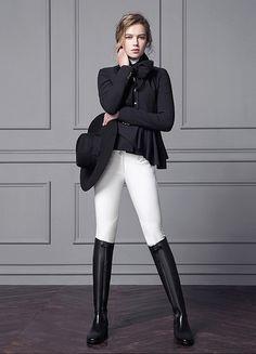 www.pegasebuzz.com | Equestrian Fashion : Michael and Kenzie 1911.