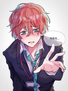 Anime W, Anime Demon, Anime Boy Hair, Anime Art Girl, Cute Characters, Anime Characters, Happy Tree Friends, Character Art, Character Design