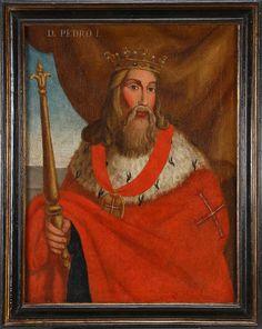 D. Pedro I, O Justiceiro. Nasceu 8 de abril de 1320 e morreu 18 de janeiro de 1367. Filho de D. Afonso IV de Portugal e D. Beatriz de Castela. Reinou 1357-1367. Casou com D. Constança Manuel 24 de agosto de 1339 e com D. Inês de Castro 1346 (secretamente) 1 de janeiro de 1354.