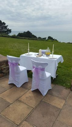 Small outdoor ceremony are perfect once the Irish weather stays dry
