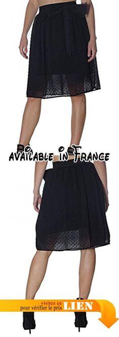 B0771J46ZX : Le Sarte Del Sole - Jupe spécial grossesse - Femme Noir noir X-Small. #Apparel #SKIRT