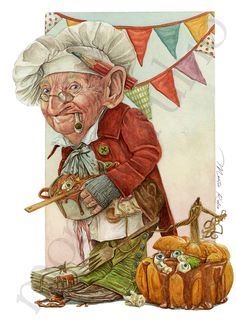 Montse Rubio   Halloween Goblin