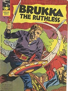Indrajal Comics-288: Flash Gordon:Brukka The Ruthless (1977)